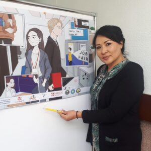 """NARXOZ University: Participation of the ALLVET Project Coordinator in the """"Information Day of the Erasmus + Program in Almaty"""""""